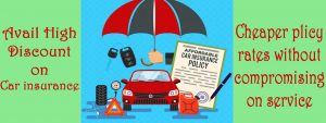 car insurance policy Discounts the cheaper plans