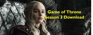 Game of Throne Season 3 Episode 1 Download in HD