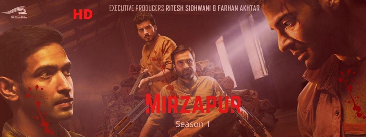 Mirzapur season 1 Download all episodes for free