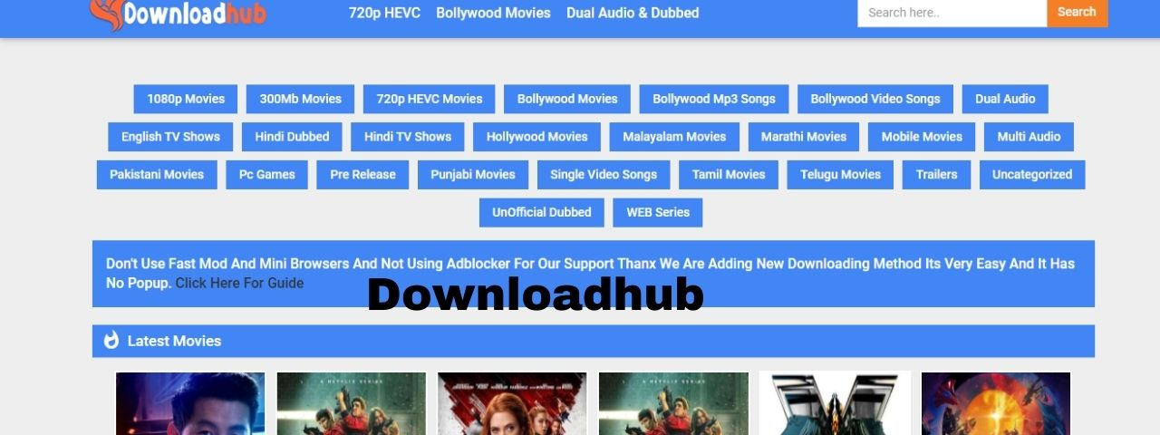 You are currently viewing Downloadhub 300mb Bollywood, Hollywood Movies