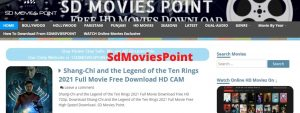 Read more about the article SDMoviesPoint 2021 Download Bollywood Hollywood Movies