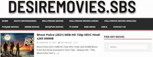 Read more about the article DesireMovies Bollywood, Hollywood Movies Download free