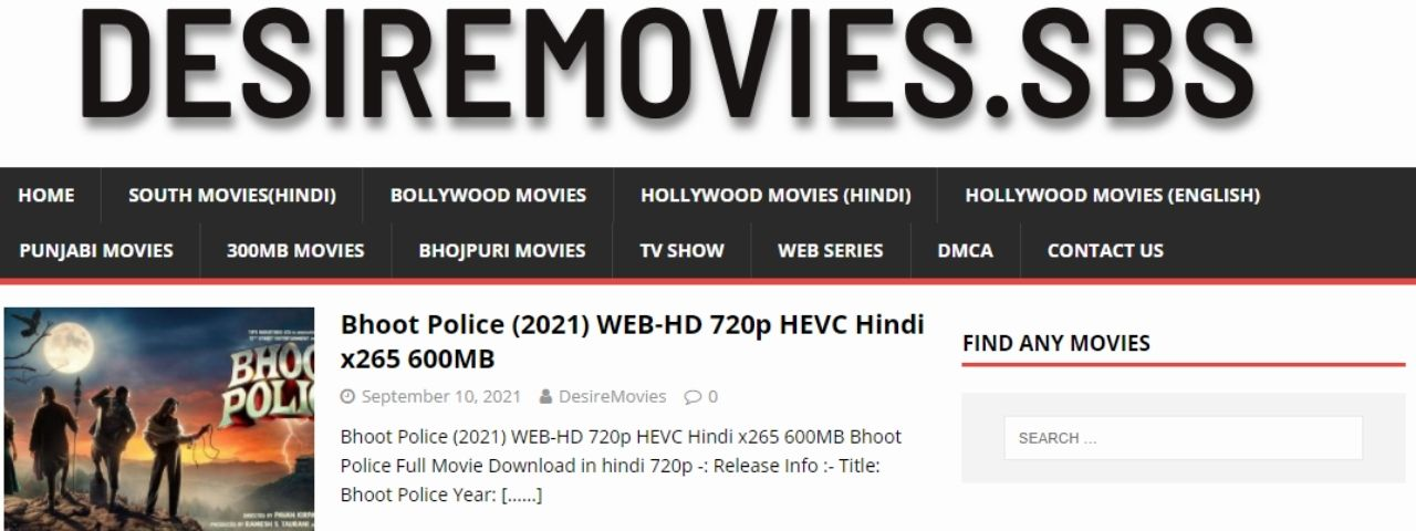 You are currently viewing DesireMovies Bollywood, Hollywood Movies Download free