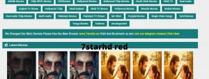 Read more about the article 7StarHD red (2021) Download Bollywood, Tamil HD Movies