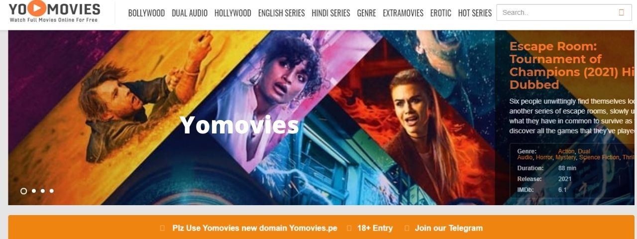 You are currently viewing YoMovies XYZ Bollywood, Hollywood movies download