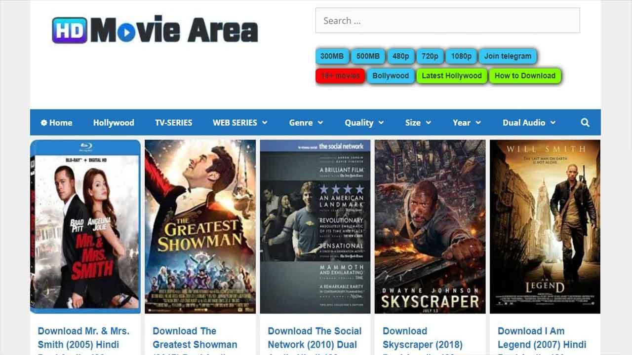 You are currently viewing Hdmoviearea 300mb Free HD Movies Downloading Website